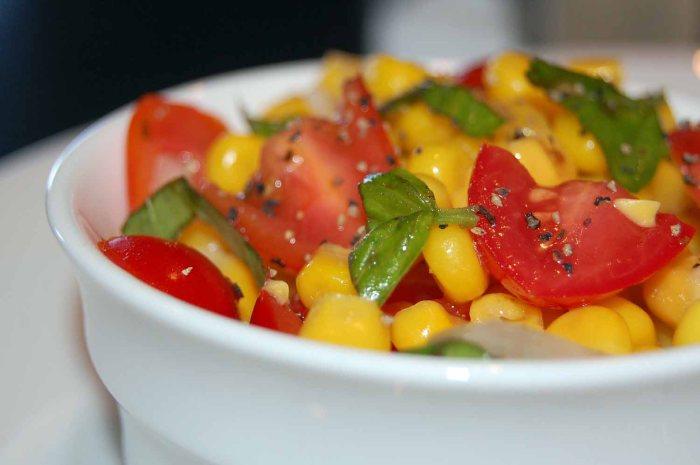 Corn and Tomato Fiesta Salad